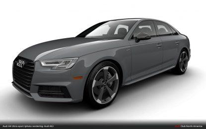 Audi A4 Ultra sport – limitirana serija samo za američko tržište [Galerija]