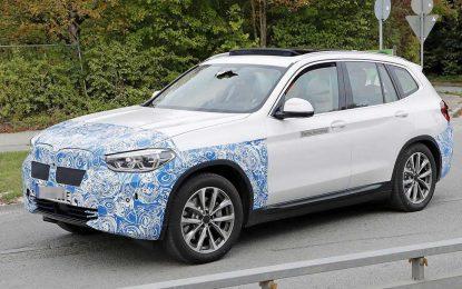 Započeli testovi na prototipu električnog BMW iX3