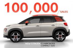 Za samo deset mjeseci prodato već 100.000 primjeraka Citroena C3 Aircross