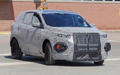 Ford priprema novi crossover – vrlo moguće da je ovo planirani CUV Ford Mach 1