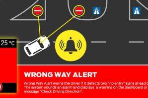 Ford pripremio novi sistem za upozorenje vozača koji se nalazi u pogrešnoj kolovoznoj traci [Video]