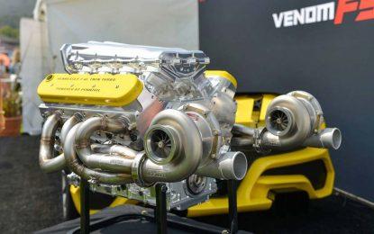 Hennessey predstavio motor sa 1.600 KS za Venom F5 za kojeg smatraju da će oboriti brzinski rekord [Galerija i Video]