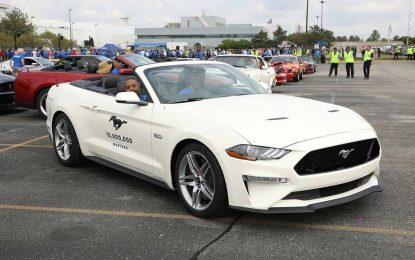 A sada i zvanično! – Proizvedeno 10 miliona Fordova Mustanga [Galerija i Video]