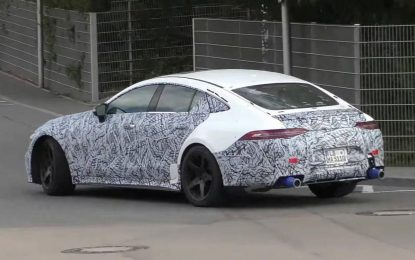 Kompletna ponuda modela Mercedes-AMG GT 4-Door Coupe još uvijek pod velom tajni