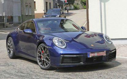 Prema fotografijama novog Porschea 911 (992) bez kamuflaže, automobil je spreman za svjetsku promociju