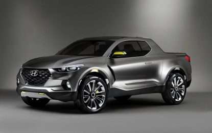 Potvrđen Hyundai Santa Cruz Pick-up