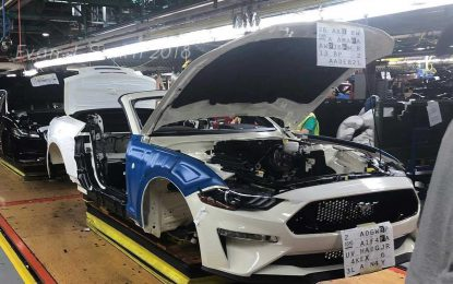 Do sad proizvedeno 10 miliona Fordova Mustanga u tvornici Flat Rock, u Michiganu