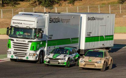 """Nakon 15 godina """"Simply Clever"""" servisnog kamiona za Škoda Motorsport, vrijeme je za novi, koji stiže tokom ljeta [Galerija]"""