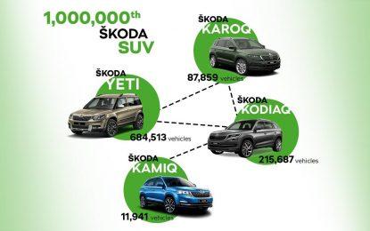 Škoda proizvela milion SUV-ova