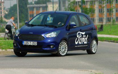 TEST – Ford Ka+ 1.19i Trend M5