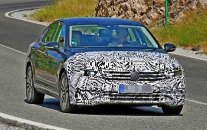 Blaga restilizacija Volkswagena Passata GTE