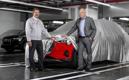 Sa početkom masovne proizvodnje električnog Audija e-tron – u Briselu, Audi označio početak ulaska u budućnost