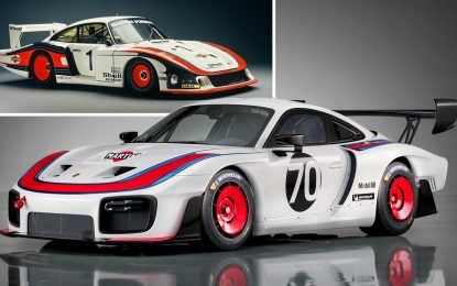 Porsche 935 sa 700 KS u čast prvih 70 godina [Galerija i Video]