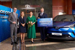 U Evropi do sada isporučeno dva miliona Toyotinih hibridnih modela