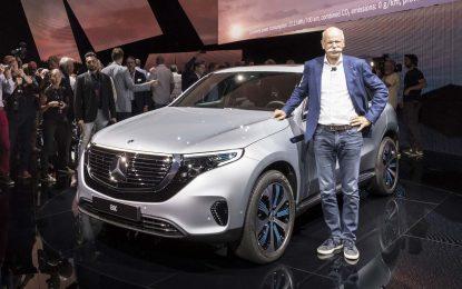 Zvanično predstavljen prvi potpuno električni Mercedes-Benzov automobil – EQC [Galerija i Video]