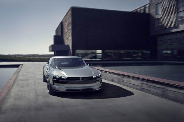 Peugeot e-Legend Concept [2018]