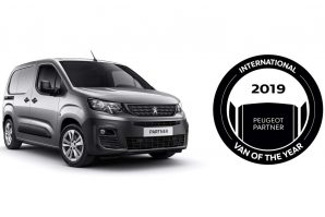 "Peugeot Partner ponio titulu ""International Van Of The Year 2019"""