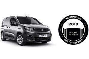 "Peugeot Partner ponio titulu ""International Van Of The Year 2019"""
