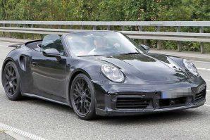 Porsche obavlja testiranja novog 911 Turbo Convertible, koji bi na tržište mogao stići naredne godine
