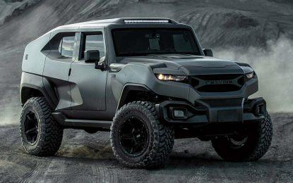 Rezvani predstavio ekstremno off-road blindirano vozilo – Tank X, vozilo koje pripada novom segmentu XUV [Galerija]