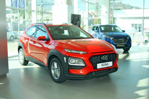 Hyundai Kona, cijena 33.990 KM, rata 374 KM