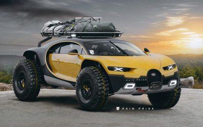 Bugatti se priprema za Dakar?!