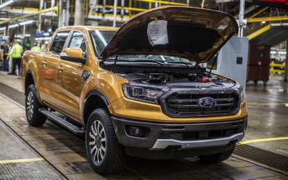 Nakon sedam godina pauziranja, u Michiganu ponovo počinje proizvodnja Forda Rangera