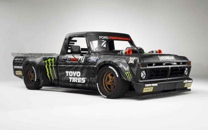 Hoonitruck Ford F150 – pick-up sa snagom superautomobila, na Ken Blockov način [Galerija i Video]