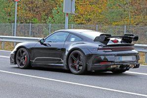 Porsche 911 GT3 – prototip sa proizvodnom karoserijom i sa velikim stražnjim spojlerom
