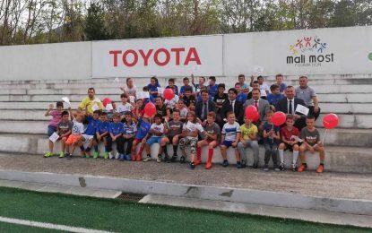 Ambasada Japana i Toyota u posjeti Sportskoj akademiji Mali most iz Mostara
