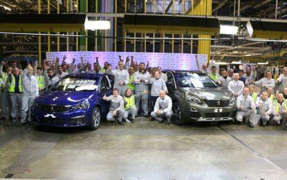 U PSA tvornici Sochaux proizvedeno pola miliona Peugeota 3008 i milion Peugeota 308