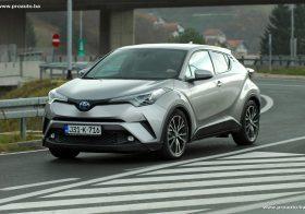 TEST – Toyota C-HR 1.8 HSD 5D E-CVT C-Lub TSS Tech Navi