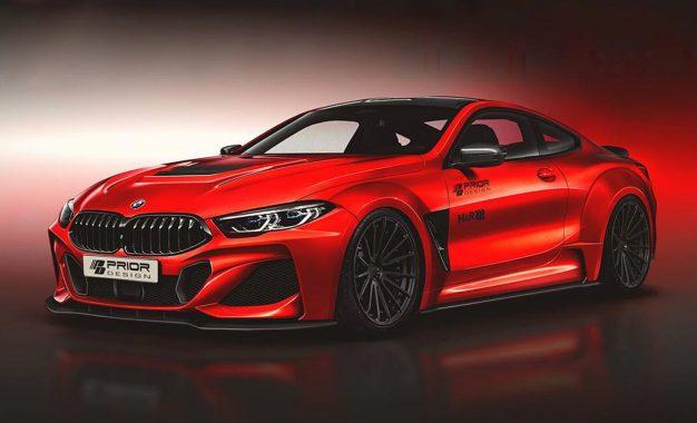 Već stižu ekstremne prerade atraktivnog BMW 8 Series Coupe