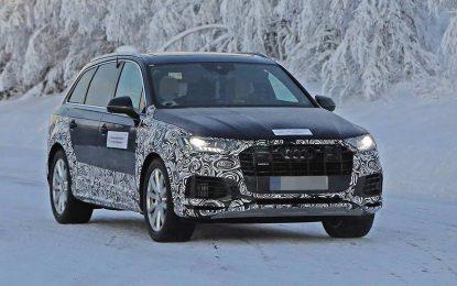 Zimska testiranja redizajniranog i kamufliranog Audija Q7 najavljuju skoro predstavljanje