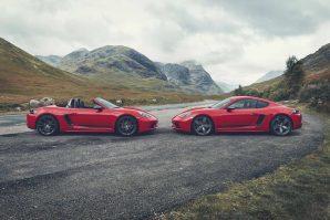 Predstavljeni novi Porsche 718 Boxster T i 718 Cayman T [Galerija i Video]