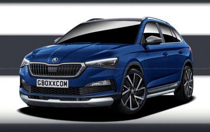 I nova Škoda Scala kao crossover?