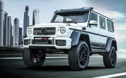 "Brabus 700 4×4² ""one of ten"" Final Edition – samo 10 primjeraka [Galerija]"