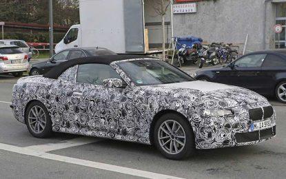 Za godinu dana na tržište stiže BMW Series 4 Convertible sa platnenim/mekanim krovom [Galerija]