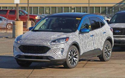 Novi oblici sa novim Fordom Kugom/Escapeom koji stižu u drugoj polovini ove godine [Galerija]