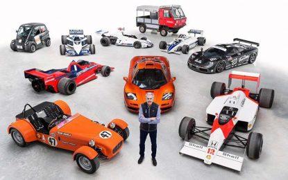 Profesor Gordon Murray, automobilski dizajner i inženjer, dobio priznanje CBE za životno djelo