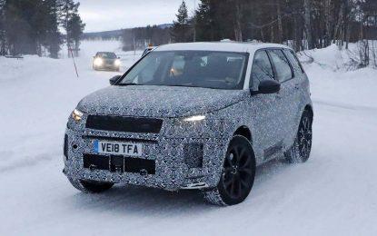 Pri kraju razvoj nove generacije Land Rovera Discovery Sporta [Galerija]