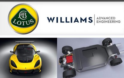 Lotus i Williams Advanced Engineering najavljuju strateško i tehničko partnerstvo
