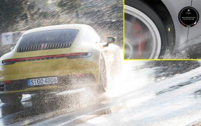 """Pojašnjenje sistema """"Porsche Wet Mode"""" – jednog od ekskluzivnih sigurnosnih sistema koji je predstavljen u novoj generacije Porschea 911 [Galerija i Video]"""