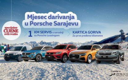 """U toku je primamljiva prodajna akcija """"Mjesec darivanja u Porsche Sarajevu"""""""