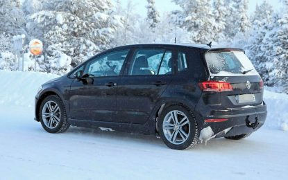 Volkswagen Golf Sportsvan krije električni pogon [Galerija]