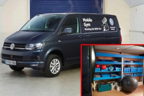 Volkswagen Transporter kao Mobile Gym – vozilo za vježbanje [Galerija i Video]
