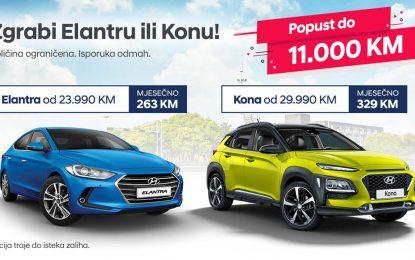 Hyundai pokrenuo novu prodajnu akciju – veliki popusti za Konu i za Elantru