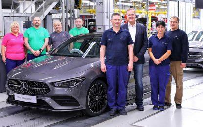 Mercedes-Benz CLA Coupe – početak proizvodnje u Mađarskoj [Galerija]