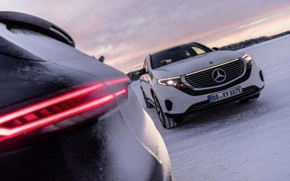 Završni testovi modela Mercedes-Benz EQC u zimskim uslovima, pred početak serijske proizvodnje [Galerija]