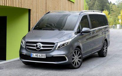 Mercedes-Benz predstavio redizajniranu V-klasu [Galerija i Video]